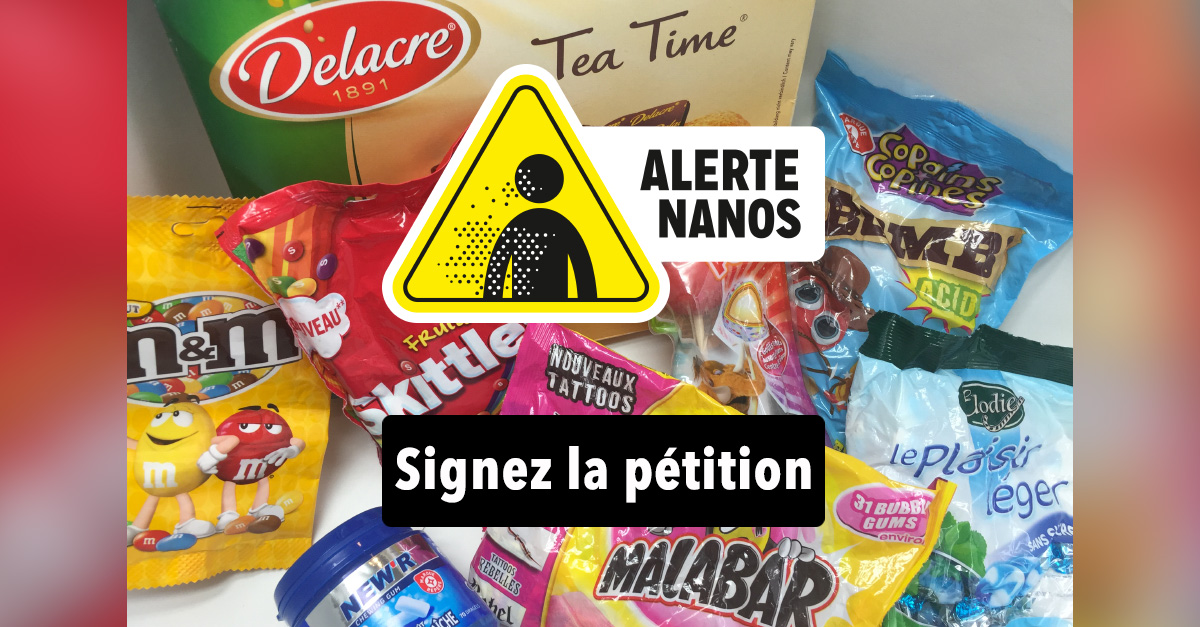 #Halloween : Stop à la NANO-malbouffe !!!